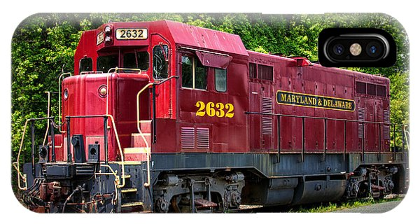 Maryland And Delaware Engine 2632 IPhone Case