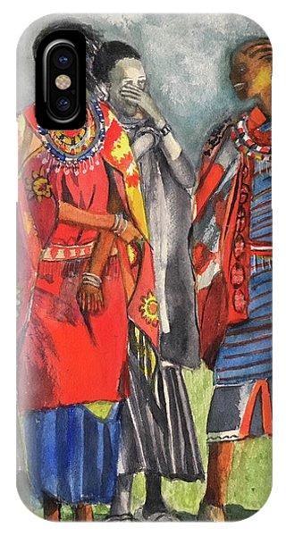 Masai Women IPhone Case