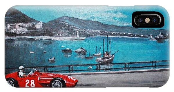 Maserati 250f At Monaco IPhone Case