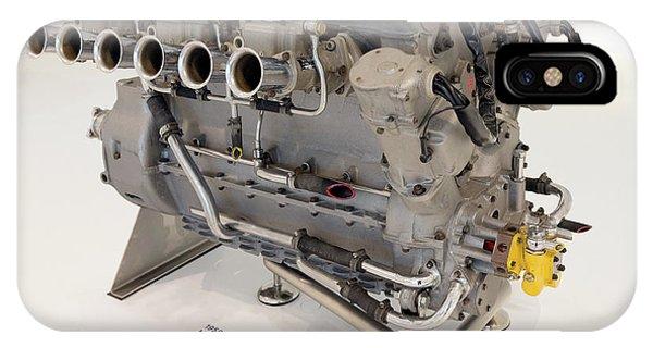 Maserati 250f Engine Front Enzo Ferrari Museum IPhone Case