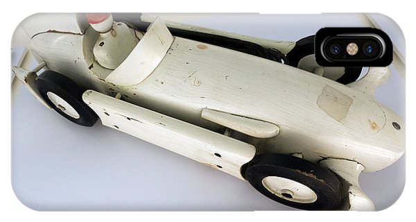 Maserati 250f Wind Tunnel Model Top Enzo Ferrari Museum IPhone Case