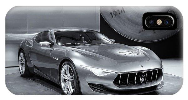 Maserati Alfieri Iphone Cases Fine Art America