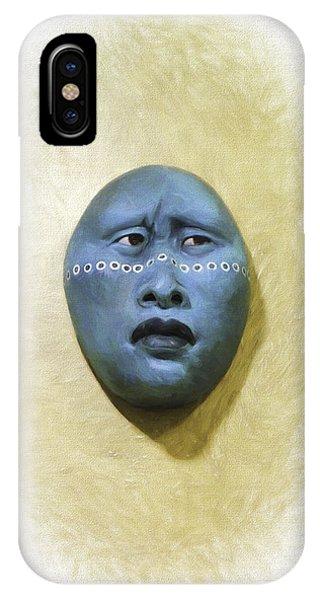 Mask 1 IPhone Case