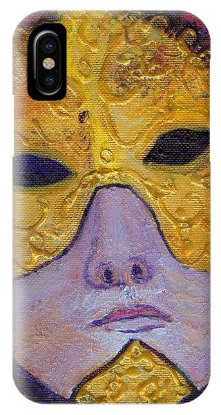 Mask Phone Case by Birgit Schlegel