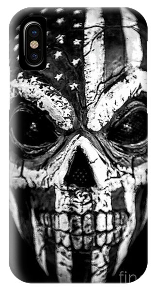 Stars And Stripes iPhone Case - Mask Of Life by Evelina Kremsdorf