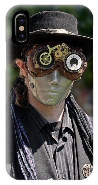 Masked Man - Steampunk IPhone Case