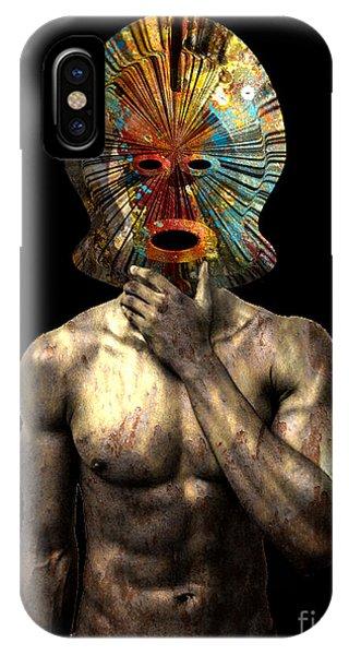 Masked Man IPhone Case