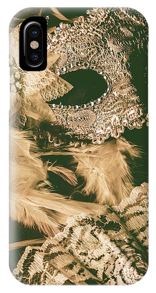 Musical iPhone Case - Masking A Playwright by Jorgo Photography - Wall Art Gallery
