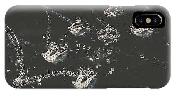 Pendant iPhone Case - Masks From The Dark Carnival by Jorgo Photography - Wall Art Gallery