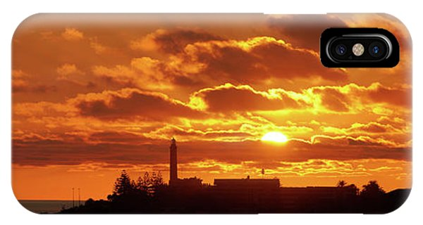 Maspalomas Sunset Panorama IPhone Case