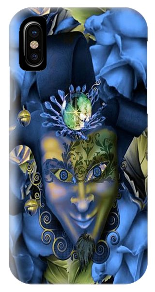 Blue Berry iPhone Case - Masquerade Blues by G Berry
