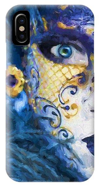 Masquerade I IPhone Case