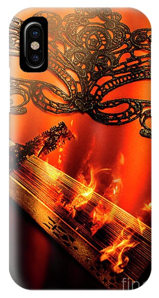 Fire Ball iPhone Case - Masquerade Of Passion by Jorgo Photography - Wall Art Gallery