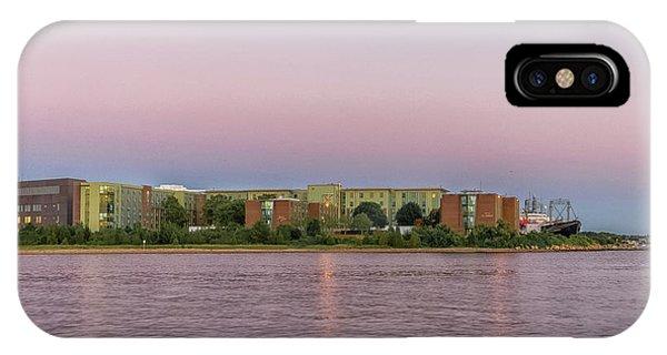Massachusetts Maritime Academy At Sunset IPhone Case