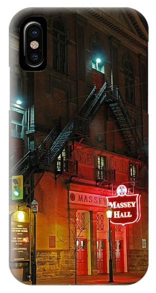 Massey Hall  IPhone Case