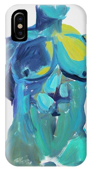 Massive Hunk Blue-green IPhone Case