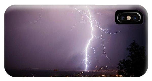Massive Lightning Storm IPhone Case