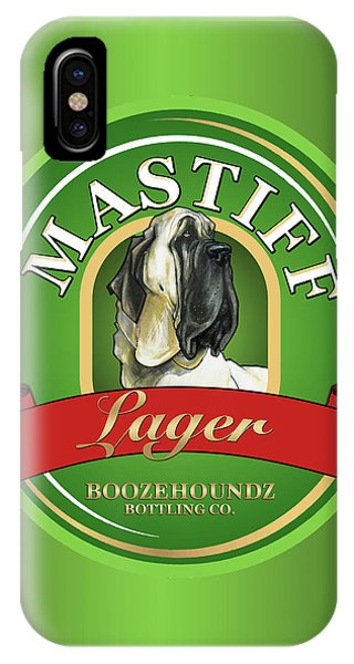 Pub iPhone Case - Mastiff Lager by John LaFree