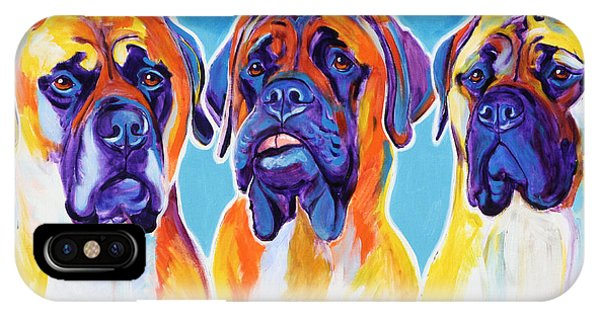 Mastiffs - All In The Family IPhone Case