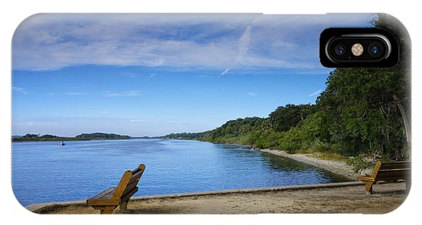 Blue River IPhone Case