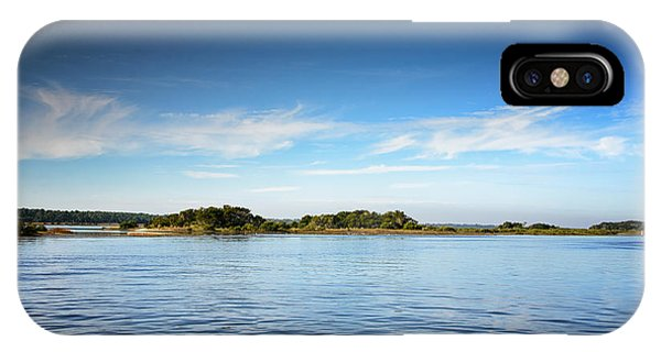 Blue River Inlet  IPhone Case