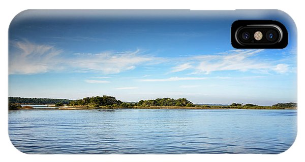 IPhone Case featuring the photograph Blue River Inlet  by Claire Turner