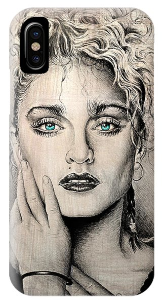 Mtv iPhone Case - Material Girl by Andrew Read