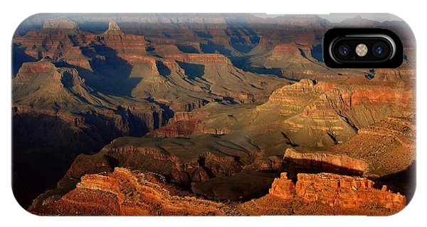 Arizona iPhone Case - Mather Point - Grand Canyon by Stephen  Vecchiotti
