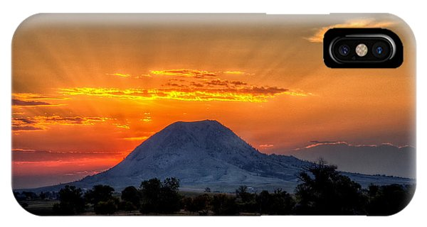Mato Paha, The Sacred Mountain IPhone Case