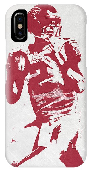 Matt Ryan Atlanta Falcons Pixel Art 2 IPhone Case
