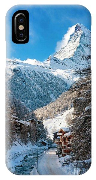 IPhone Case featuring the photograph Matterhorn  by Brian Jannsen