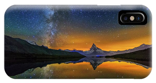 Matterhorn By Night IPhone Case