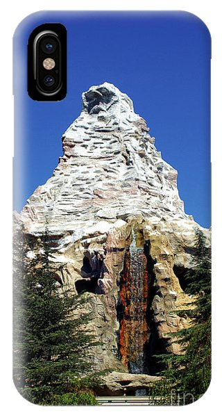 Matterhorn Disneyland IPhone Case
