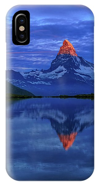 Matterhorn Sunrise IPhone Case