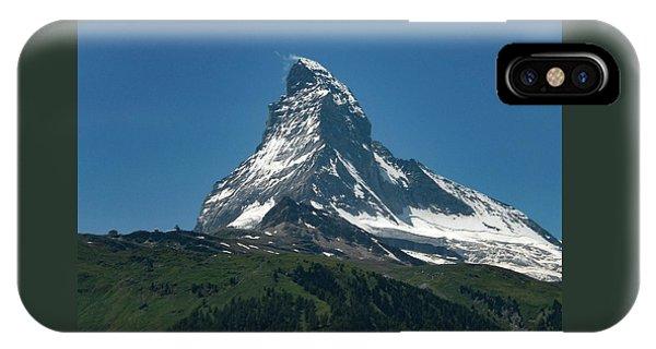 Matterhorn, Switzerland IPhone Case