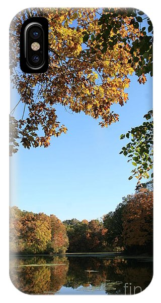 Matthiessen Lake In Autumn IPhone Case