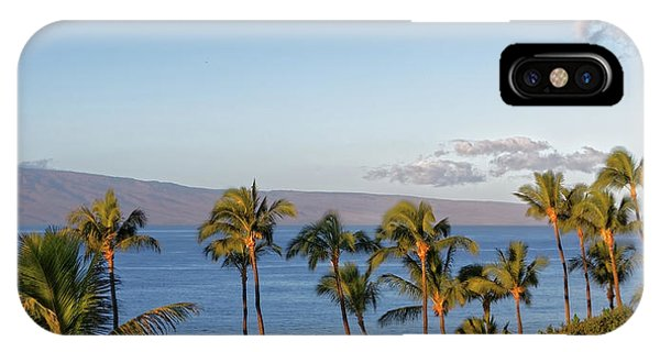 IPhone Case featuring the photograph Maui Palms by Lars Lentz
