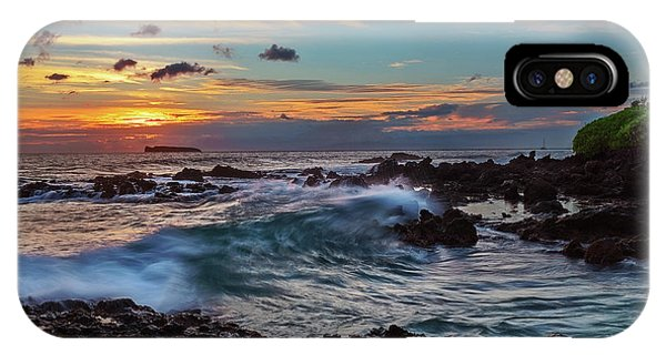 Maui Sunset At Secret Beach IPhone Case