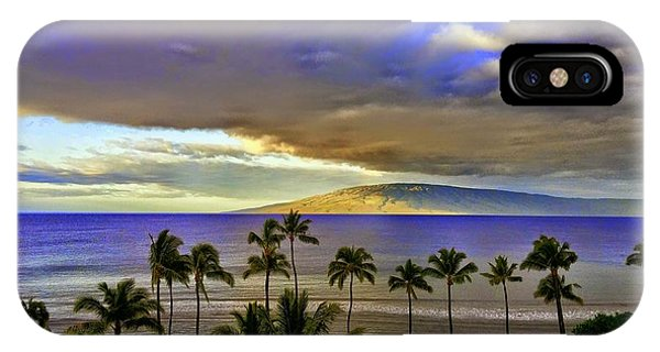 Maui Sunset At Hyatt Residence Club IPhone Case