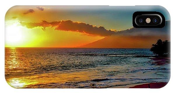 Maui Wedding Beach Sunset  IPhone Case