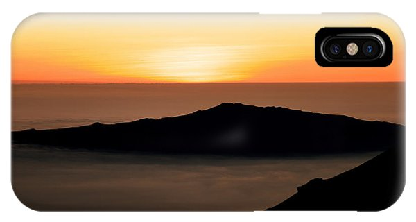 Mauna Kea Sunset IPhone Case