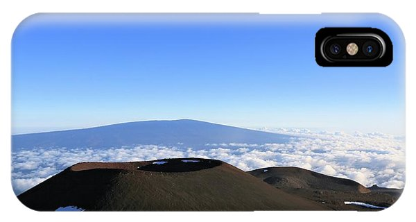 Mauna Loa In The Distance IPhone Case