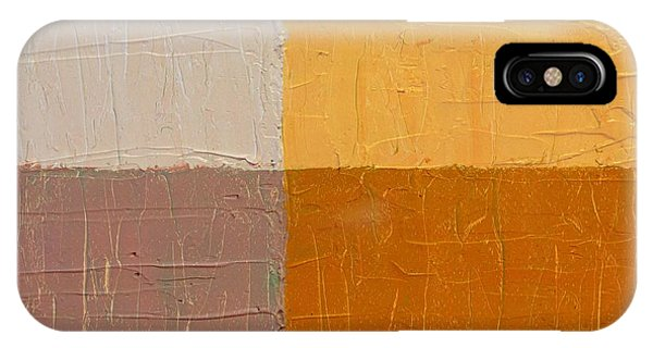 Mauve And Peach IPhone Case