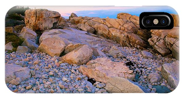 Mauve Light On Schoodic Penninsula IPhone Case