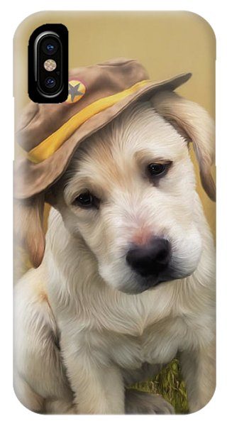 Maverick And Tori - Labrador Art IPhone Case