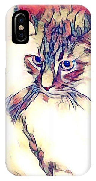 Max The Cat IPhone Case