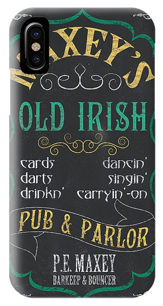 Maxey's Old Irish Pub IPhone Case