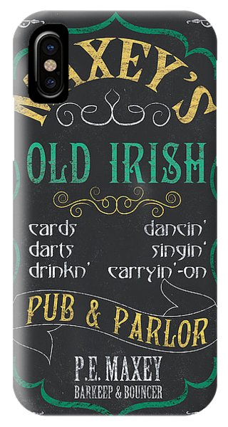 Bar iPhone Case - Maxey's Old Irish Pub by Debbie DeWitt