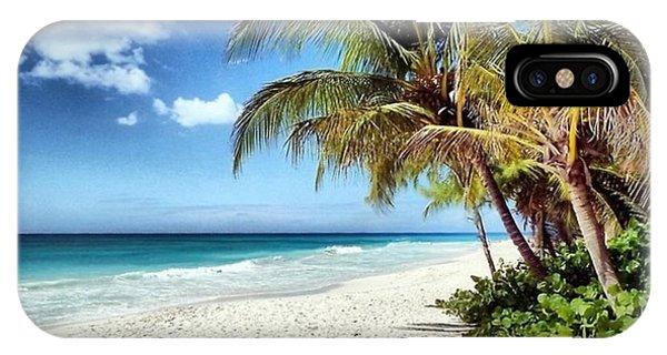 Maxwell Beach Barbados IPhone Case