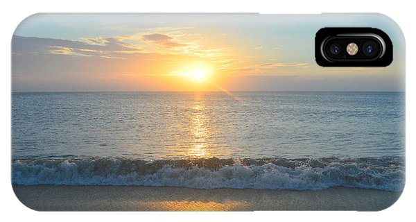 IPhone Case featuring the photograph May 23 Sunrise by Barbara Ann Bell